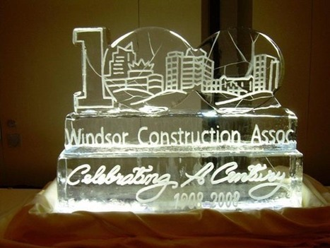 Crown Your Brand's Event with an Ice Sculpture Corporate Logo | Festiveice | wedding and event planning | Scoop.it