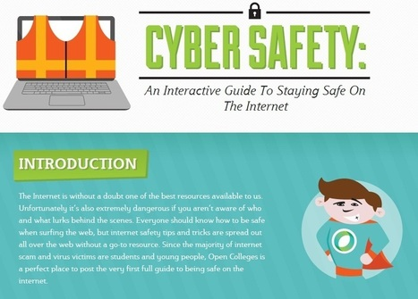 Cyber Safety: An Interactive Guide To Staying Safe On The Internet | Educational Leadership and Technology | Scoop.it