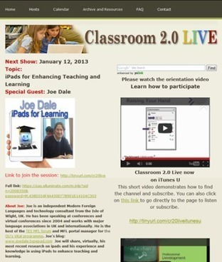 Integrating ICT into the MFL classroom:: iPads for learning on Classroom 2.0 LIVE! | SBLTech | Scoop.it