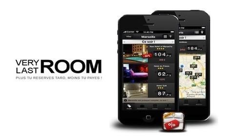 VeryLastRoom lève 400 000 euros pour son application de réservation d'hôtels à prix cassé | Voyage en Multimédia - VEM5 | Scoop.it