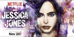 Watch Marvel's 'Jessica Jones' Intro Before Tonights Premiere on Netflix | TV Series Related | Scoop.it