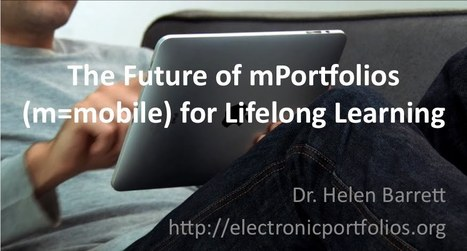 mPortfolios | Mobile Learning in Practice | Scoop.it