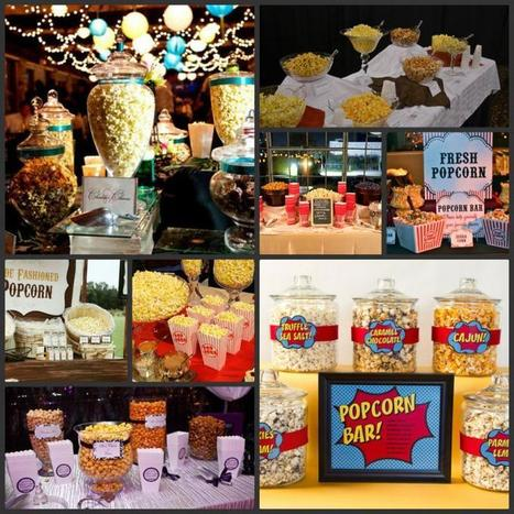 Make your Wedding Unique with a Popcorn Bar|Uniquely You Planning On How To Plan A Perfect Wedding | Wedding Planning | Scoop.it