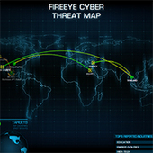 Cyber Threat Map | FireEye | Computer Forensics and Cyber Crime | Scoop.it