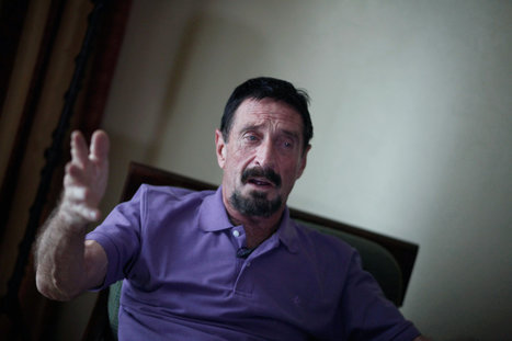 McAfee Antivirus Software Pioneer Arrested in Guatemala City | Business Updates | Scoop.it