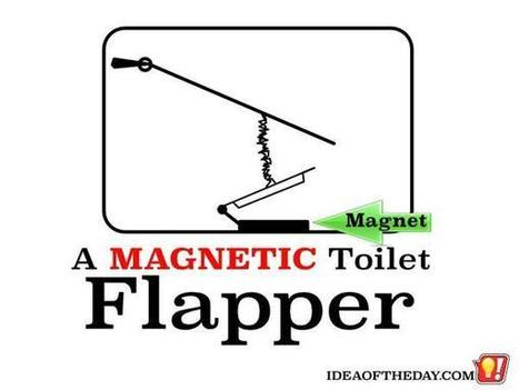 A Magnetic Toilet Flapper - Idea of the Day | PrintableCoupons | Scoop.it