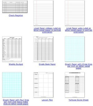 20+ Free Back to School Printables for Teachers... | Programming and planning documentation | Scoop.it