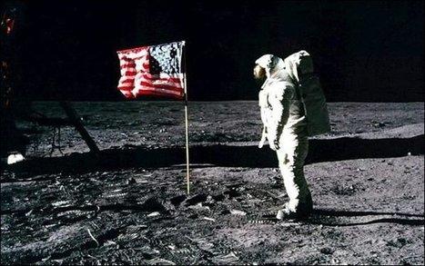 Il manque un drapeau sur la Lune | Mais n'importe quoi ! | Scoop.it