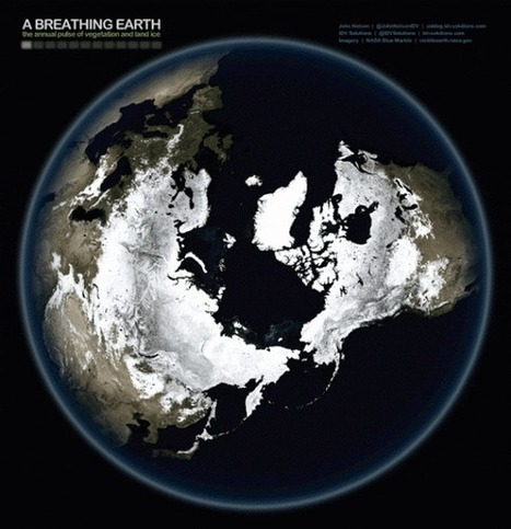 Mesmerizing GIFs of Breathing Earth | marked for sharing | Scoop.it