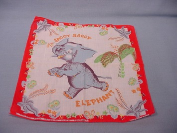 Little Golden Books' Hankies, Nothing to Sneeze At | Antiques & Vintage Collectibles | Scoop.it