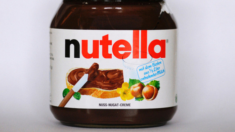 A map of all the countries that contribute to a single jar of Nutella | AP Human Geography | Scoop.it