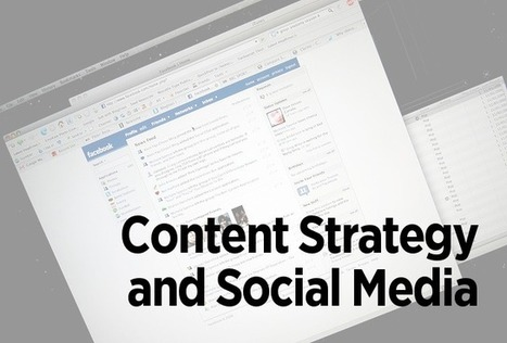 How to Integrate Your Content Strategy & Social Media Campaigns | Marketing Technology Blog | The Content Marketing Hat | Scoop.it