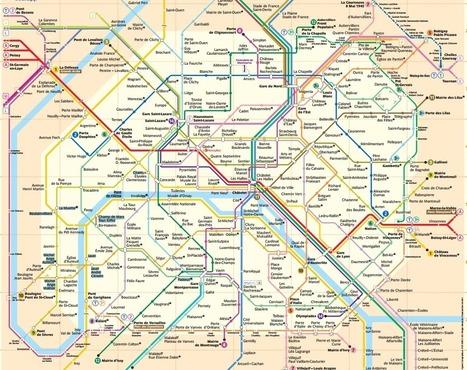 Repérez les livres DISPONIBLES sur votre ligne de métro by Ex Bibliosurf | Innovations dans la culture | Scoop.it
