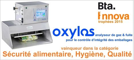 OXYLOS abiss® remporte le trophée BTA Innova dans la catégorie Sécurité alimentaire Qualité et Hygiène | abiss® instruments - gas analysis and packaging integrity | Scoop.it