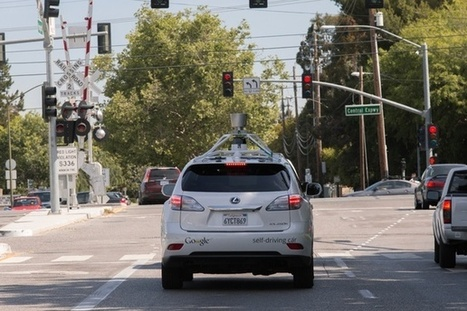 The First Look at How Google's Self-Driving Car Handles City Streets | leapmind | Scoop.it