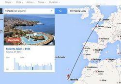 Google Flight Search devient photogénique | L'actu de l'etourisme ! | Scoop.it