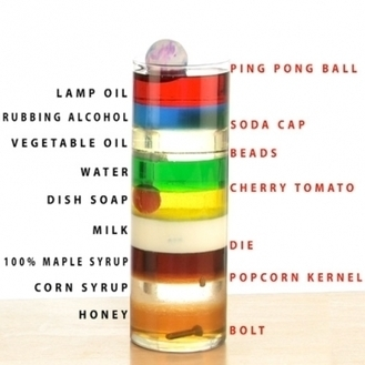 Density Tower - Magic with Science | Experiments | Steve Spangler Science | STEM for Elementary | Scoop.it