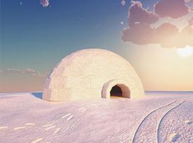 Sous le soleil… la glace | Immobilier de bureaux : communication et marketing. | Scoop.it