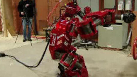 Human-sized robot to compete in disaster response contest - CBS News | Emergency Management Thursdays | Scoop.it