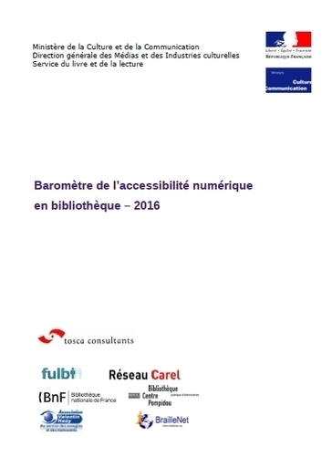 Baromètre de l'accessibilité numérique 2016 | idc tic : information, documentation, communication - technologies de l'information et de la communication | Scoop.it