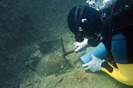 Mediterranean Shipwreck May Be 4000 Years Old - Archaeology | Archaeology Stories | Scoop.it