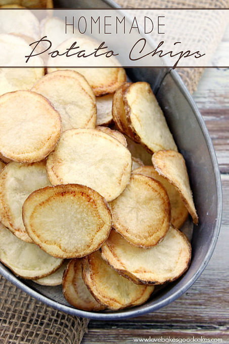 Homemade Potato Chips | Love Bakes Good Cakes | Frugal and Thrifty | Scoop.it