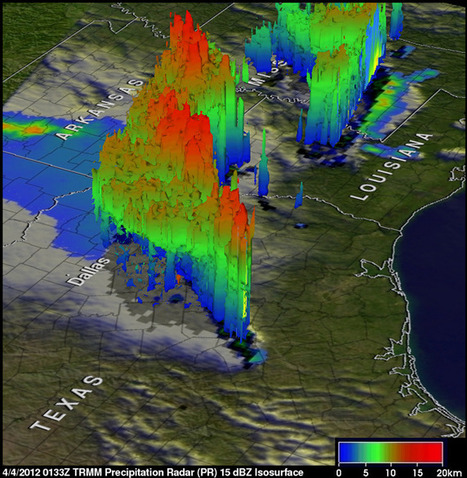 NASA - NASA's TRMM Satellite Sees Tornadic Texas Storms in 3-D | DigitAG& journal | Scoop.it
