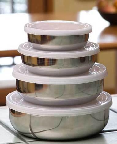 set of 4 Steel containers from iSteel |Big Bazaar Delhi | bigbazaardelhi.in | Scoop.it
