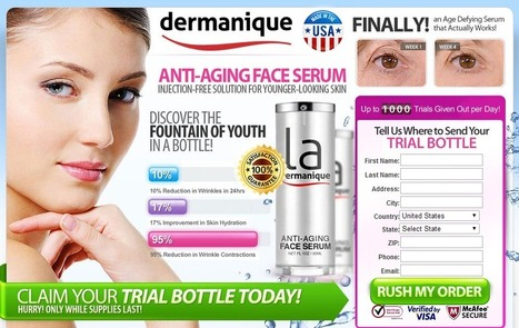 La Dermanique Anti Aging Review - FREE TRIAL SUPPLIES LIMITED!!! | Skin Care  Matter | Scoop.it