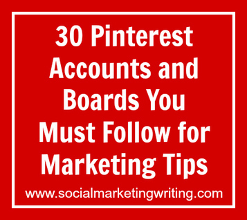 30 Pinterest Accounts and Boards You Must Follow for Marketing Tips | Social Media | Scoop.it