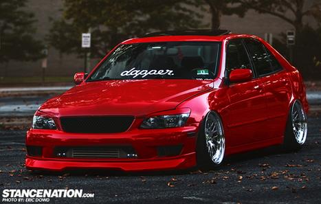 Definitely Dapper // Chris' 689WHP Lexus IS300.   JDM   Scoop.it