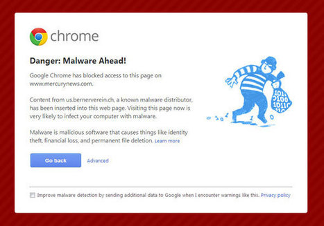 Google Chrome browser blocks websites with malware warnings | IT Security Unplugged | Scoop.it