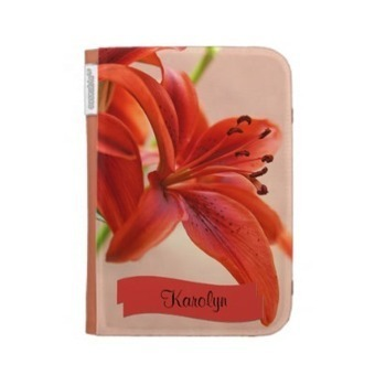 Orange Tiger Lily Close Up Photograph Kindle Folio Case | Z Photography | Scoop.it