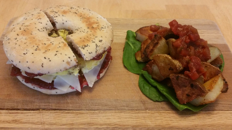 Chirpy Breakfast Bagel with Cherry Almond Butter | Entomophagy: Edible Insects and the Future of Food | Scoop.it