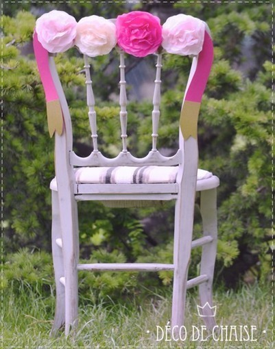 DIY : Déco de chaise | DIY Mariage | Queen For A Day - Blog mariage | Best of coin des bricoleurs | Scoop.it