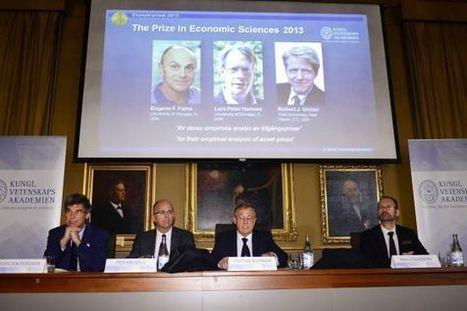 El Nobel premia teorías contradictorias sobre mercados financieros y los precios | Grandes economistas globales | Scoop.it