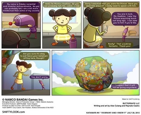 Katamari | ShiftyLook | Comics | Scoop.it