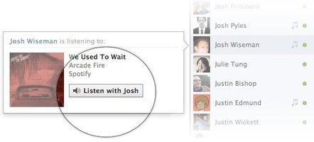 Facebook launches 'listen with friends' feature, lets others shame you for poor taste | Everything Facebook | Scoop.it