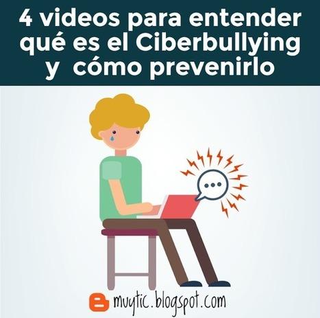 4 videos breves para saber qué es y cómo prevenir el ciberbullying | FOTOTECA INFANTIL | Scoop.it