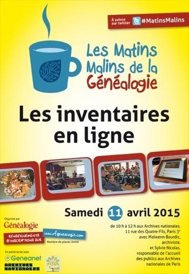 Matins Malins de la généalogie : Comment utiliser les inventaires en ligne ? | Rhit Genealogie | Scoop.it
