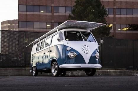 Iconic Old Volkswagen Bus Gets Solar Power | Montreal startup community | Scoop.it
