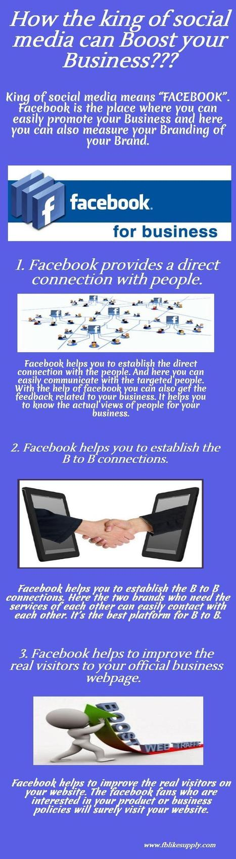how the king of social media can boost your businesss   Digital Marketing   Scoop.it