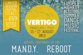 M.A.N.D.Y. to headline Vertigo Festival | DJing | Scoop.it
