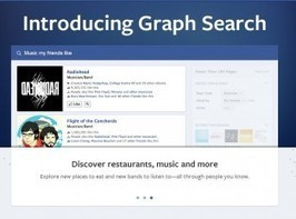 Facebook Graph Search Ties Music to Everything Else | Evolver.fm | Musique sociale | Scoop.it