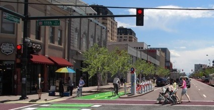 This Weekend: See What Broadway Would Be Like With a Protected Bike Lane   Streetsblog Denver   Placemaking   Scoop.it
