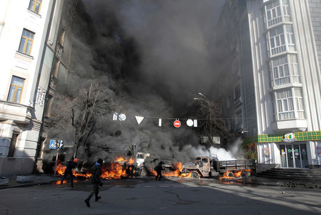 Bloody Battles in Kiev | Best of Photojournalism | Scoop.it