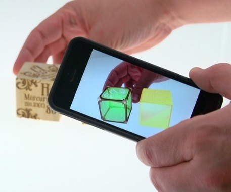 Daqri's Elements 4D augmented reality app aims to educate the masses | Elements 4D | Scoop.it