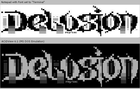 The Three ASCII Art Styles of the Underground Text Art Scene | ASCII Art | Scoop.it