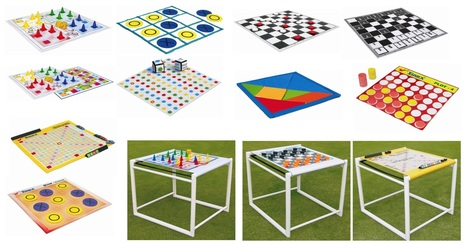 Primary Sports Equipment- Giant Board Games   Sports and Fitness Equipment   Scoop.it