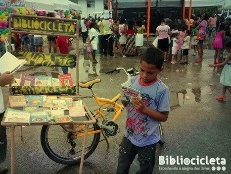 Bibliocicleta | Facebook | Trucs de bibliothécaires | Scoop.it